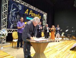 Ricardo Coutinho recebe prêmio neste sábado como o maior benfeitor da região de Cajazeiras