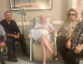 Wilson Braga tem alta do hospital Nossa Senhora das Neves e comemora aniversário em casa nesta quinta-feira