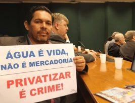 """ALPB sedia seminário contra """"privatização"""" das empresas de água e saneamento"""