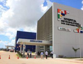 Interventores dos hospitais Metropolitano e Regional assumem nesta segunda-feira