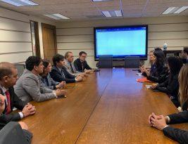 Vereadores de João Pessoa participam de reuniões na Prefeitura e no Consulado do Brasil em Los Angeles
