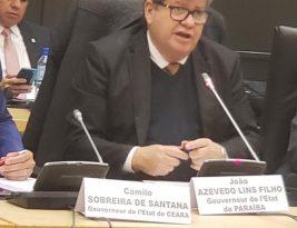 Governador exalta empreendedorismo e educação ao discursar na França