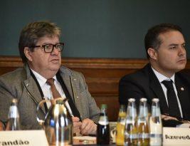 Com agendas nos ministérios da Economia e da Educação na Alemanha, Governadores encerram missão na Europa