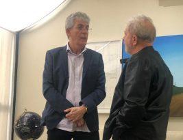 Ricardo Coutinho se encontra com Lula em São Paulo e ex-presidente anuncia visita a Paraíba