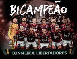 Flamengo bate o River de virada e é campeão da Libertadores