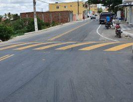 João Azevedo entrega pavimentação de travessia em Cacimba de Dentro nesta sexta-feira