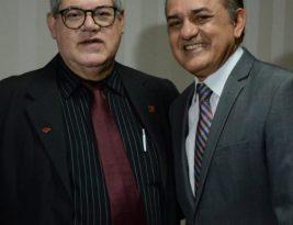 Presidente João Corujinha saúda empossados em solenidade no Tribunal de Contas da Paraíba