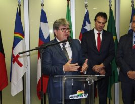 João Azevêdo discute obras de saneamento e sistemas de distribuição de gás no Fórum dos Governadores do Nordeste