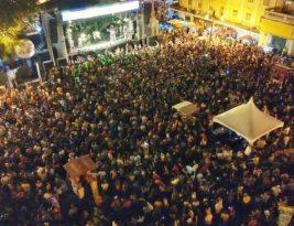 Jonas Esticado atrai milhares ao Ponto de Cem Réis na abertura do Folia de Rua