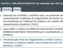 A exemplo de Ricardo e Coriolano Coutinho, outros investigados na Calvário recebem habeas corpus