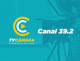 TV Câmara de João Pessoa muda canal para 39.2