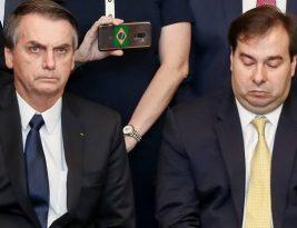 Rodrigo Maia diz que Bolsonaro não tem coragem de demitir Mandetta