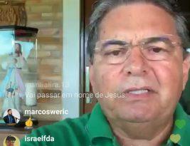Adriano Galdino anuncia, em live, campanha da Assembléia Legislativa para incentivar doação de sangue