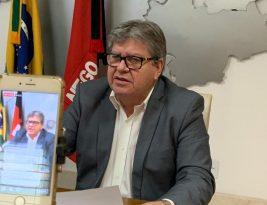 João Azevedo anuncia ações econômicas e sociais com impacto de R$ 145,5 milhões durante pandemia do coronavírus