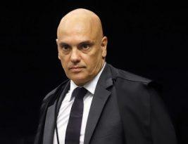 Alexandre de Moraes lê ataques ao STF e destaca 'estupro' de filha de ministro e 'palavrão'