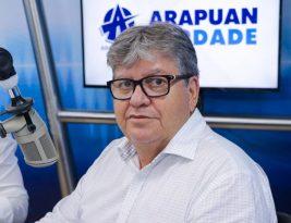 Pesquisa mostra o governador João Azevedo como a principal liderança política do Estado