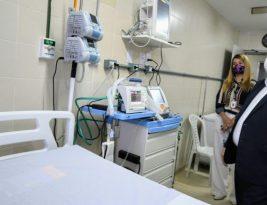 João Azevedo entrega hospital com 150 leitos para pacientes com coronavírus em João Pessoa
