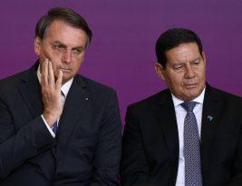 Bolsonaro quer se livrar de Mourão na campanha pela reeleição em 2022, segundo a Folha de São Paulo