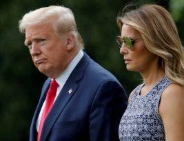 Quarentena para Donald Trump e Melania que testam positivo para o coronavirus nos EUA