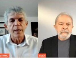 """""""Mentiras não vão tirar Ricardo da política"""", diz Lula em live ao lado do Mago"""