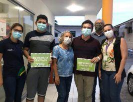 Quatro pacientes de Manaus que estavam internados no Hospital Universitário da UFPB em João Pessoa recebem alta