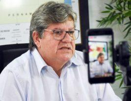 João Azevedo comemora aprovação emergencial de vacinas e convoca população para imunização contra o coronavirus