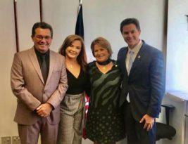 Nilda Gondim assumirá o Senado ao lado dos filhos Raquel, ex-senador e ministro Vitalzinho e senador Vené