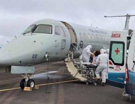 Aviões da Força Aérea Brasileira iniciam operação para transportar pacientes de Manaus para outros Estados