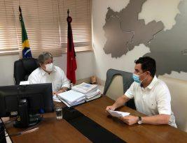 João Azevedo e Wilson Santiago Filho discutem projetos para o desenvolvimento da Paraíba