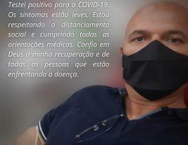 Vereador Coronel Sobreira testa positivo para o coronavirus