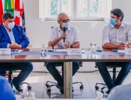Cícero recebe Mesa Diretora da Câmara de João Pessoa e presidente Dinho assegura prioridade para as ações de combate ao coronavirus