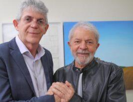 """Ricardo Coutinho defende Lula """"para juntar os cacos do Brasil"""" e reafirma que vai disputar o Senado"""