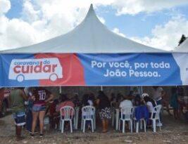 SERVIÇOS DE CIDADANIA: Caravana do Cuidar realiza centenas de atendimentos na comunidade do Aratu