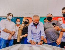 Prefeitura de João Pessoa inicia pavimentação de sete ruas no Planalto da Boa Esperança