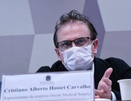 Cristiano Carvalho, da Davati, entrega à CPI conversas com servidores da Saúde e vendedores de vacina