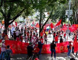 CUT-PB convoca manifestações contra o presidente Bolsonaro em seis cidades paraibanas neste sábado