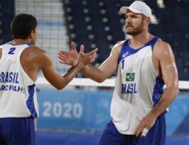 Alison e Álvaro despacham mexicanos e vão às quartas nas Olimpíadas de Tóquio
