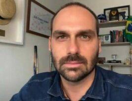 Diagnosticado com covid-19, Eduardo Bolsonaro diz estar fazendo tratamento e questiona Passaporte Sanitário