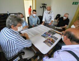 João Azevêdo inspeciona obra e anuncia inauguração do primeiro Museu da Cidade de João Pessoa para 4 de novembro