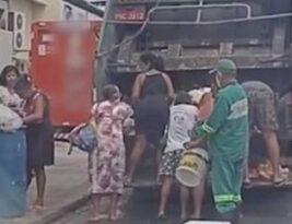 Fome e situações de extrema pobreza se tornam rotina no país; brasileiros reviram lixo para comer