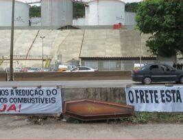 Paralisação dos tanqueiros continua em Minas Gerais e mais cinco Estados nesta sexta-feira;  postos têm filas