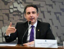 Presidente do Senado vai ouvir governadores sobre projeto que prevê valor fixo do ICMS sobre combustíveis