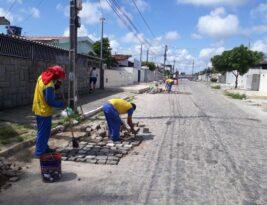 Seinfra realiza serviços para melhoria do tráfego e iluminação em 57 bairros da Capital, nesta terça-feira